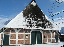 Museum Altes Land Winter © Angela Strey